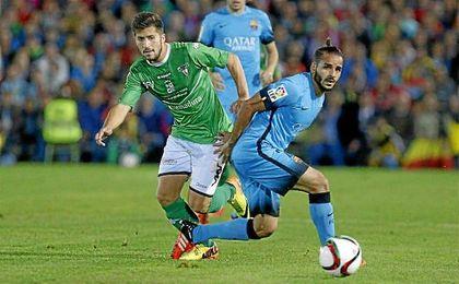 Douglas tan sólo disputó 116 minutos en la pasada campaña, y únicamente 12 en Liga.