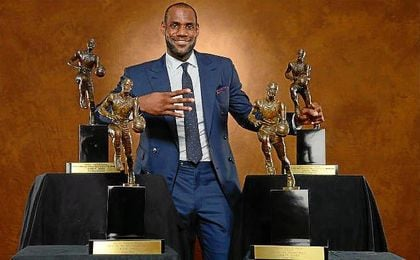 James añadirá más trofeos a su nutrido palmarés.