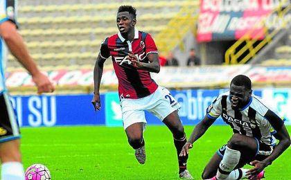 A sus 18 años, Diawara ha sido fundamental en el Bolonia.