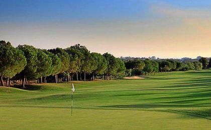 Campo de golf de Marbella, donde se concentrará el Betis.