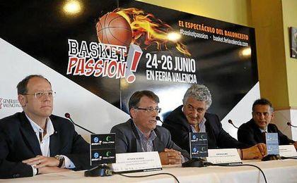 Presentación ´¡BasketPassion!´, la feria del baloncesto.