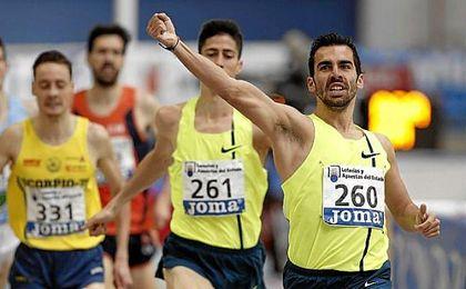 Kevin López compite este jueves en Madrid.