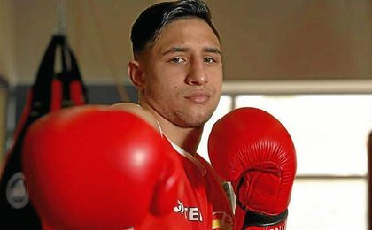 """´El Infierno"""", apodo del boxeador canario."""