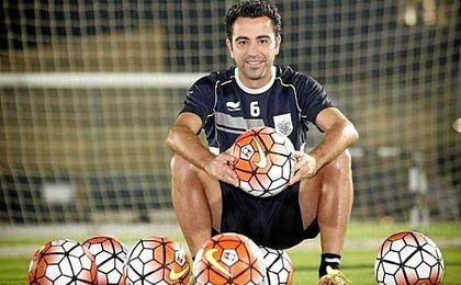 """Xavi avisa: """"La dificultad psicológica cambió de bando""""."""