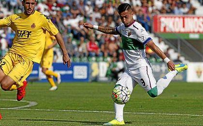 Sergio León ha anotado 22 tantos con el Elche.