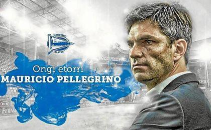 Así ha anunciado el Alavés la contratación de Pellegrino.