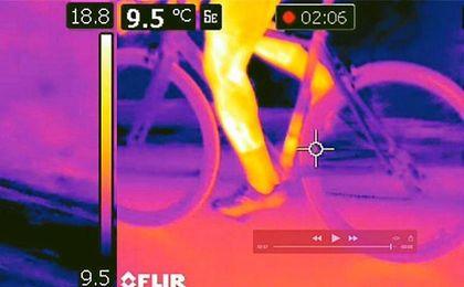 El Tour dispondrá de cámaras térmicas para detectar motores en las bicicletas