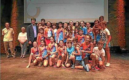 En la clausura de los Juegos Deportivos Municipales han participado 21.596 deportistas.