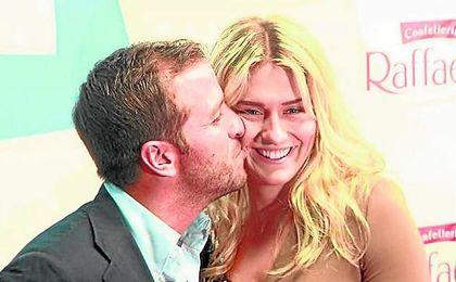Rafael van der Vaart, con su nueva novia, Estevana Polman.