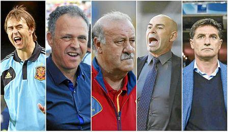 Lopetegui, Caparrós, Jémez o Míchel son algunos de los candidatos.