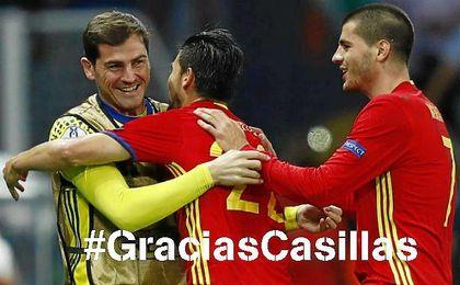 '#GraciasCasillas', una tendencia en Twitter como homenaje