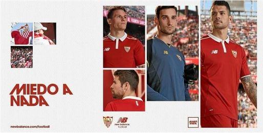 Así es la segunda equipación del Sevilla.