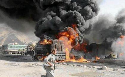 El ataque ha ido dirigido contra un convoy de autobuses que transportaban a cadetes de la Policía afgana.