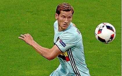 Verthongen se lesionó durante el último entrenamiento en Haillan de su selección.