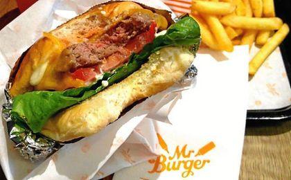 Curiosa iniciativa de Mr. Burger.