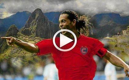 La nueva joya de Ronaldinho
