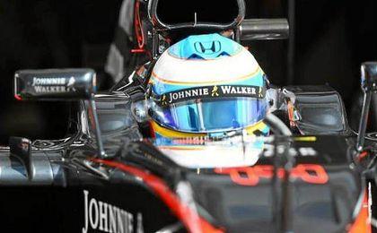 El bicampeón del mundo ha realizado pruebas con la aerodinámica y los neumáticos.