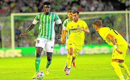 Si todo va bien, N�Diaye cambiar� pronto la camiseta del Betis por la del Villarreal.