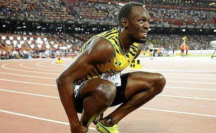 El hombre más rápido del planeta confía en que pueda estar recuperado dentro de un mes.