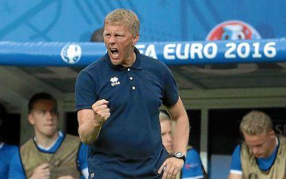 """Hallgr�mmsson:""""Francia tiene mejores individualidades, nosotros mejor equipo"""""""
