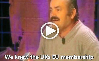 Los británicos usan un vídeo del Risitas para explicar el 'Brexit'