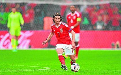 Joe Allen se ha revalorizado durante la Eurocopa con Gales.