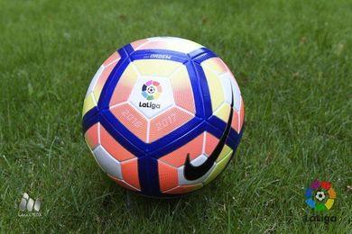 Nuevo balón de La Liga para la temporada 2016 /17.