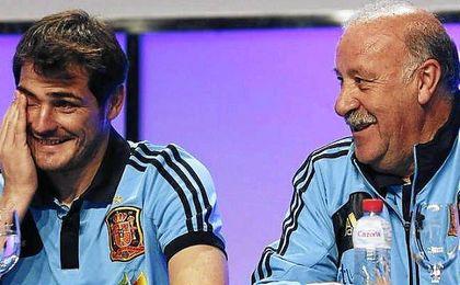 Iker y del Bosque vuelven a tener una relación cordial.