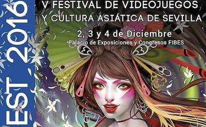 Cartel para la V edición del festival en Sevilla.