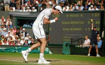 Andy Murray se ha impuesto a Berdych por 6-3, 6-3 y 6-3.