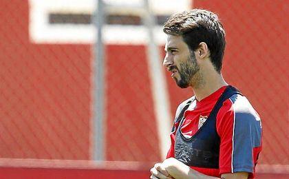 Nico Pareja espera volver a ser importante a las �rdenes de Sampaoli.