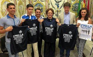 La Milla Solidaria Santa Justa y Santa Rufina y el Acuatl�n Memorial ��igo Vallejo abren la Vel� de Triana 2016