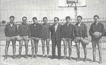El Claret de baloncesto fue absorbido por el Betis en 1959, pasando a denominarse Real Betis Baloncesto.