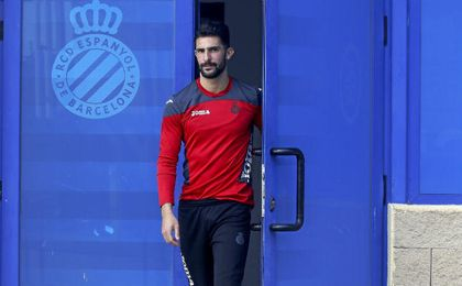 �lvaro, jugador del Espanyol.