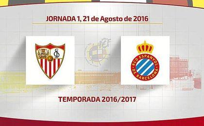 Calendario completo del Sevilla FC en la 2016/17