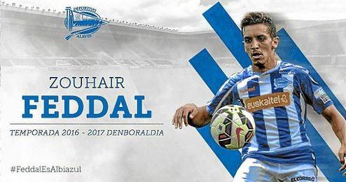 Feddal, nuevo jugador del Alavés.