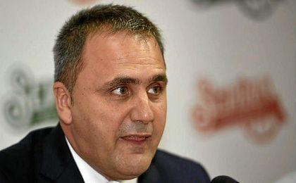 Fernando Moral, presidente del Club Baloncesto Sevilla.