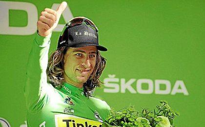 Peter Sagan en el podio