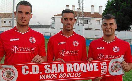 El San Roque de C�diz ha realizado varias incorporaciones.
