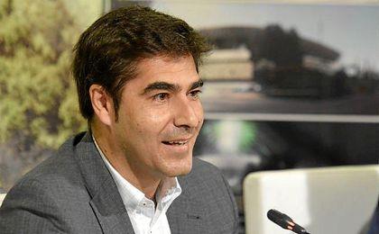El presidente del Betis Ángel Haro.