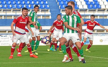 Betis y Middlesbrough se enfrentan en Marbella.