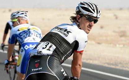 """Cancellara: """"Mis últimos kilómetros en el Tour de Francia han sido muy duros, estoy terminando un gran momento en la historia de mi vida""""."""