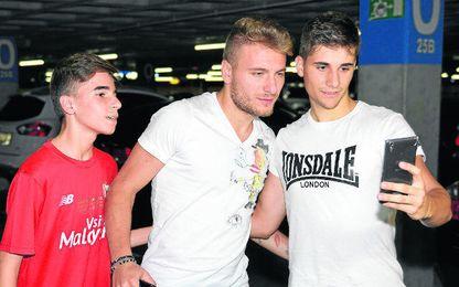Immobile se encuentra en Sevilla para resolver su futuro.