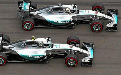 Hamilton, vigente campeón; Rosberg, lider del mundial reeditarán su duelo.