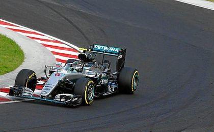 Rosberg ha sido el más rápido durante todo el fin de semana.