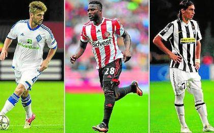 Miguel Veloso, Sessègnon y Martín Cáceres representan algunas de las opciones más atractivas del mercado de los jugadores libres.