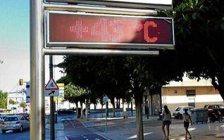 Alerta por temperaturas en cuatro provincias andaluzas