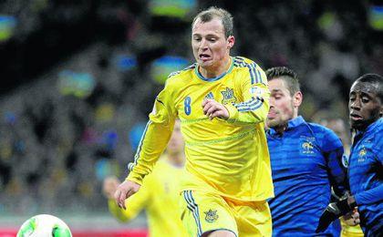 Zozulya disputó la pasada edición de la Eurocopa.