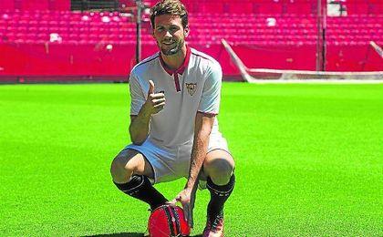 Franco Vázquez ha sido la inversión más importante del Sevilla en lo que va de verano.