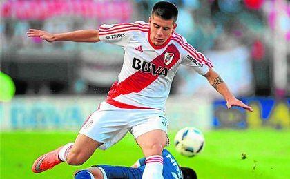Tomás Andrade, de 19 años, jugó ante el Sevilla en Orlando.
